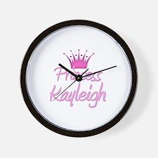 Princess Kayleigh Wall Clock