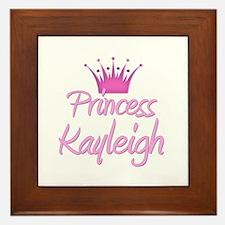 Princess Kayleigh Framed Tile