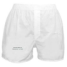 Cute Salesman Boxer Shorts