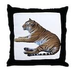 tiger7 Throw Pillow