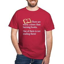Book Burning - T-Shirt