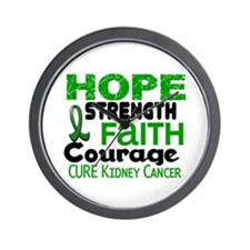 HOPE Kidney Cancer 3 Wall Clock