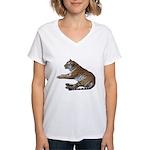 tiger7 Women's V-Neck T-Shirt