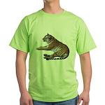 tiger7 Green T-Shirt