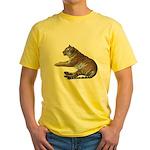 tiger7 Yellow T-Shirt