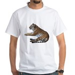 tiger7 White T-Shirt