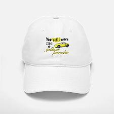 Yellow Porsche Baseball Baseball Cap