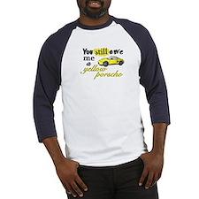 Yellow Porsche Baseball Jersey