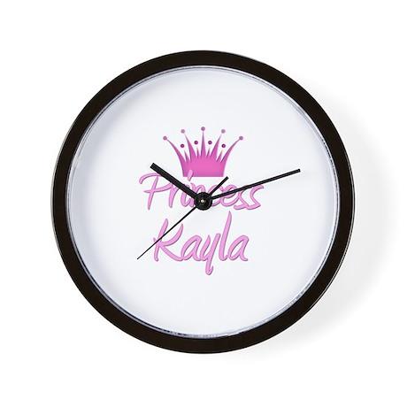 Princess Kayla Wall Clock