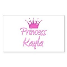 Princess Kayla Rectangle Decal