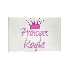 Princess Kayla Rectangle Magnet