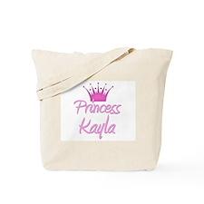 Princess Kayla Tote Bag