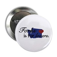 """Forks is for Lovers 2.25"""" Button"""