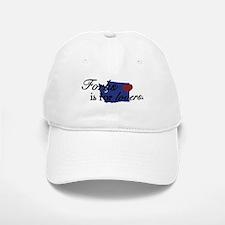 Forks is for Lovers Baseball Baseball Cap