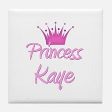 Princess Kaye Tile Coaster