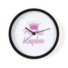 Princess Kayden Wall Clock