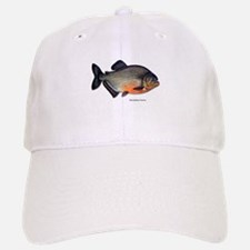 Red-Bellied Piranha Fish Baseball Baseball Cap
