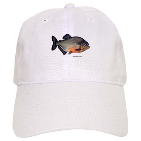 Red bellied piranha fish cap by 1withnature for White cap fish