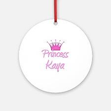Princess Kaya Ornament (Round)