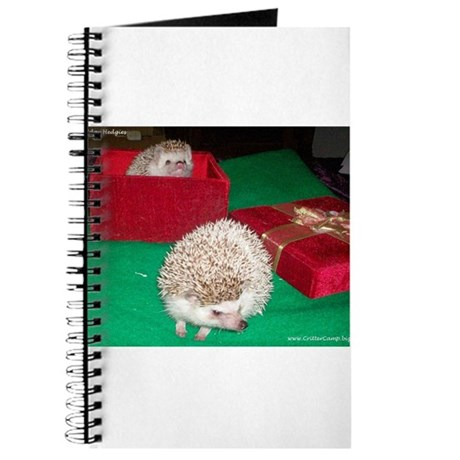 Holiday Hedgies Journal