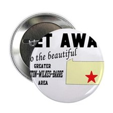 "Get Away to the Beautiful Gre 2.25"" Button (10 pac"