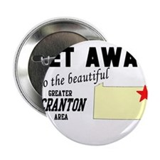 """Get Away to the Beautiful Gre 2.25"""" Button"""