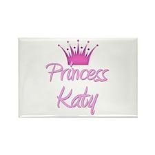 Princess Katy Rectangle Magnet
