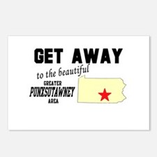 Get Away to the Beautiful Gre Postcards (Package o