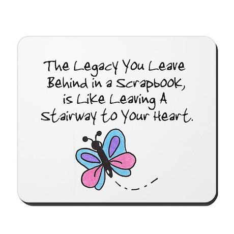 Scrapbooking Legacy Mousepad