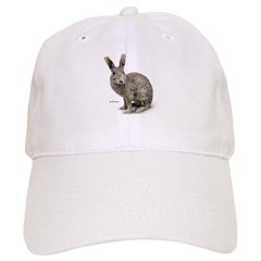 Rabbit Photo Baseball Cap
