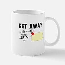 Get Away to the Beautiful Gre Mug