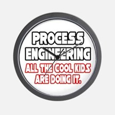 """Process Engineering...Cool"" Wall Clock"