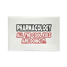 """Pharmacology...Cool Kids"" Rectangle Magnet"