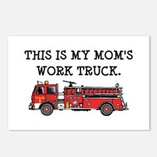 Mom's Fire Truck Postcards (Package of 8)