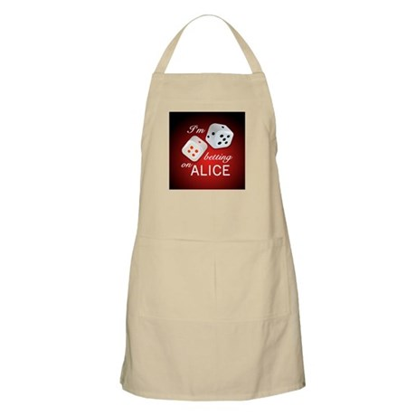 I'm betting on ALICE. BBQ Apron