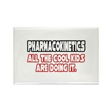 """Pharmacokinetics...Cool"" Rectangle Magnet"