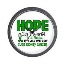 HOPE Kidney Cancer 1 Wall Clock