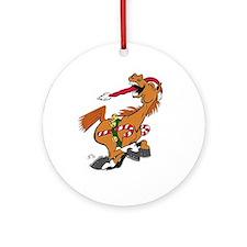YeeHaw Horse Christmas Ornament