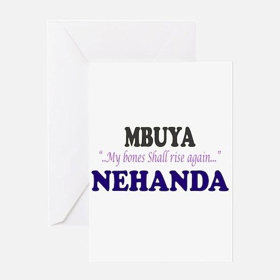 Mbuya Nehanda Greeting Card