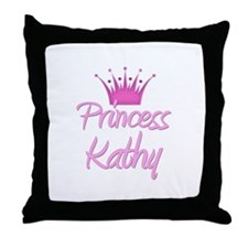 Princess Kathy Throw Pillow