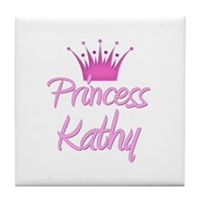 Princess Kathy Tile Coaster