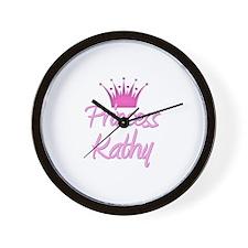 Princess Kathy Wall Clock