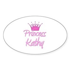 Princess Kathy Oval Decal