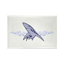 Blue Shark Rectangle Magnet