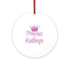 Princess Kathryn Ornament (Round)
