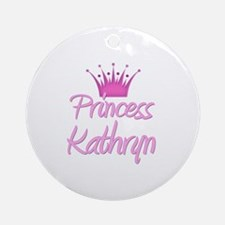 Princess Kathryn Ornament (Round)