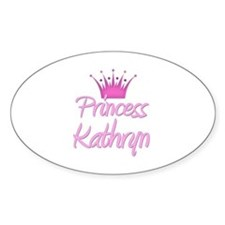 Princess Kathryn Oval Decal