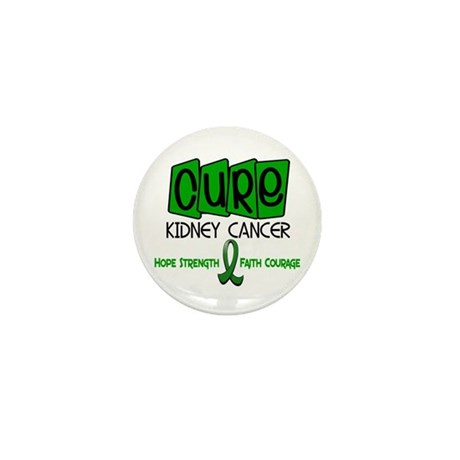 CURE Kidney Cancer 1 Mini Button