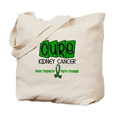 CURE Kidney Cancer 1 Tote Bag
