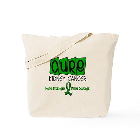 CURE Kidney Cancer 1 Tote Bag